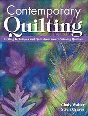 Cover of: Contemporary Quilting