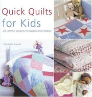 Cover of: Quick Quilts for Kids