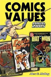 Cover of: Comics Values Annual 2005
