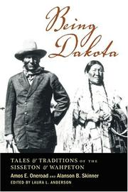 Cover of: Being Dakota