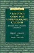Cover of: Research Guide for Undergraduate Students (Sixth Edition)