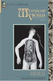 Cover of: Monsieur Venus