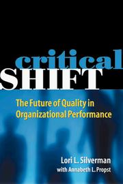 Cover of: Critical SHIFT