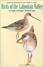 Cover of: Birds of the Lahontan Valley