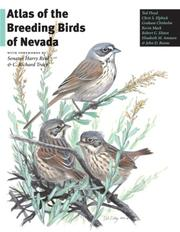 Cover of: Atlas of the Breeding Birds of Nevada