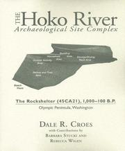 Cover of: The Hoko River Archaeological Site Complex