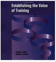 Cover of: Establishing the Value of Training