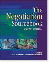 Cover of: The Negotiation Sourcebook, Second Edition
