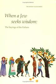 Cover of: When a Jew Seeks Wisdom