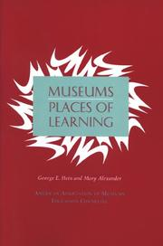 Cover of: Museums