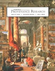 Cover of: AAM Guide to Provenance Research