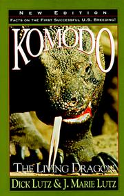 Cover of: Komodo, the Living Dragon