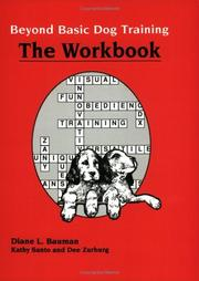 Cover of: Beyond Basic Dog Training-Workbook