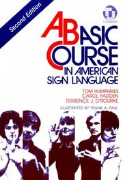 Cover of: Basic Course in American Sign Language