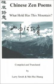 Cover of: Chinese Zen Poems