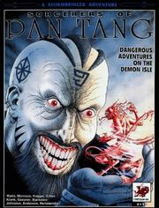 Cover of: Sorcerers of Pan Tang (Stormbringer RPG)