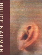 Cover of: Bruce Nauman