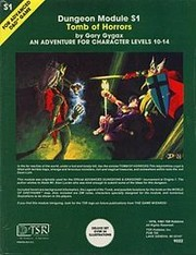 Cover of: Tomb of Horrors (Advanced Dungeons & Dragons Module S1)