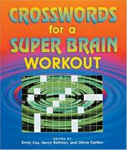 Cover of: Crosswords for a Super Brain Workout (Crossword)