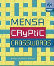 Cover of: Mensa Cryptic Crosswords (Mensa)