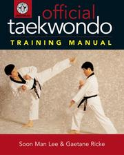 Cover of: Official Taekwondo Training Manual