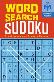 Cover of: Word Search Sudoku (Mensa)