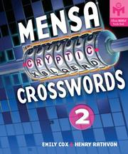 Cover of: Mensa Cryptic Crosswords 2 (Mensa)