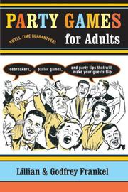 Cover of: Party Games for Adults