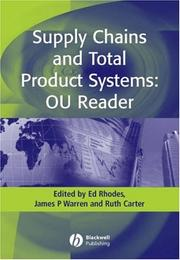 Cover of: Supply Chains and Total Product Systems