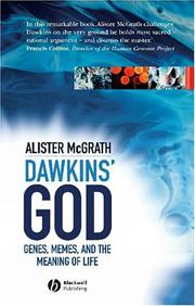 Cover of: Dawkins' God