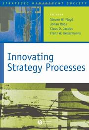 Cover of: Innovating Strategy Processes (Strategic Management Society)