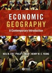 Cover of: Economic Geography Introduction to Contemporary Perspectives and