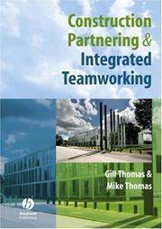 Cover of: Construction Partnering and Integrated Teamworking