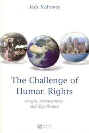 Cover of: The Challenge of Human Rights