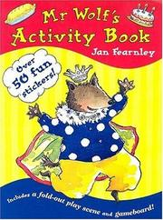 Cover of: Mr Wolf's Activity Book