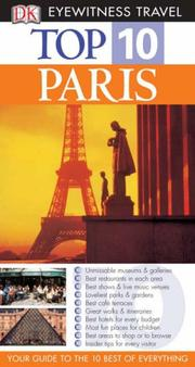 Cover of: Paris (Eyewitness Top Ten Travel Guides)