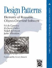 Cover of: Design Patterns