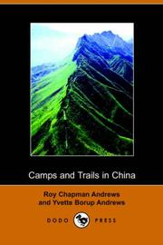 Cover of: Camps and Trails in China
