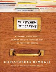 Cover of: The kitchen Detective