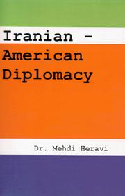 Cover of: Iranian-American Diplomacy