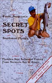 Cover of: Frank Sargeant's Secret Spots