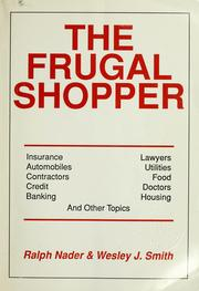 Cover of: The Frugal Shopper