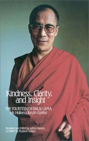 Cover of: Kindness, Clarity, and Insight