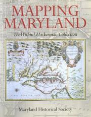Cover of: Mapping Maryland