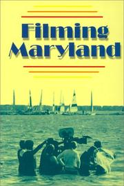 Cover of: Filming Maryland