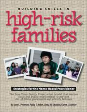 Cover of: Building Skills in High-Risk Families