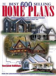 Cover of: Best 600 Selling Home Plans
