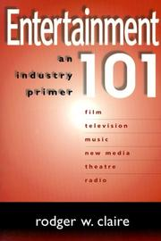 Cover of: Entertainment 101