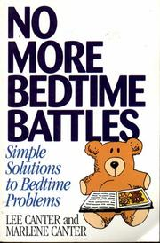 Cover of: No More Bedtime Battles