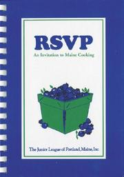 Cover of: RSVP